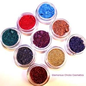 Eyeshadows samples