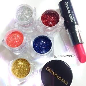 Glitter samples